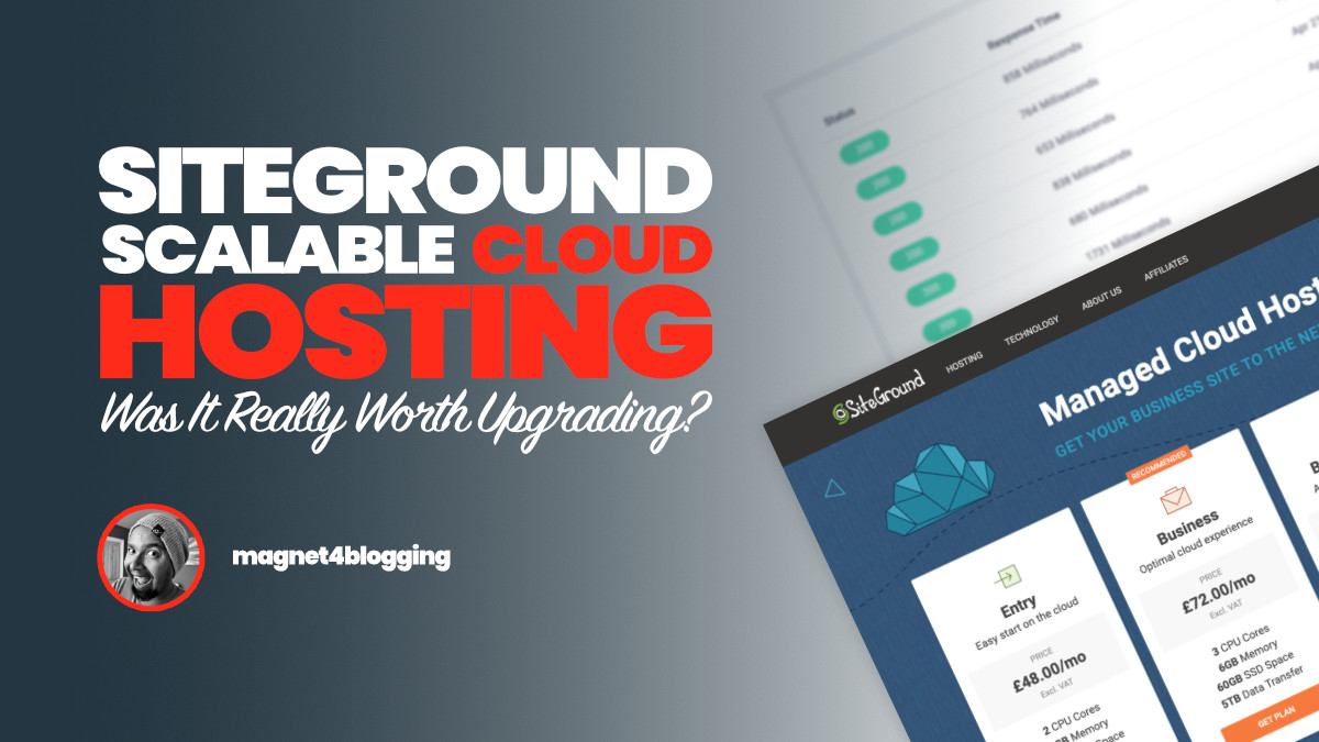 SiteGround Cloud Hosting: Was It Really Worth Upgrading?