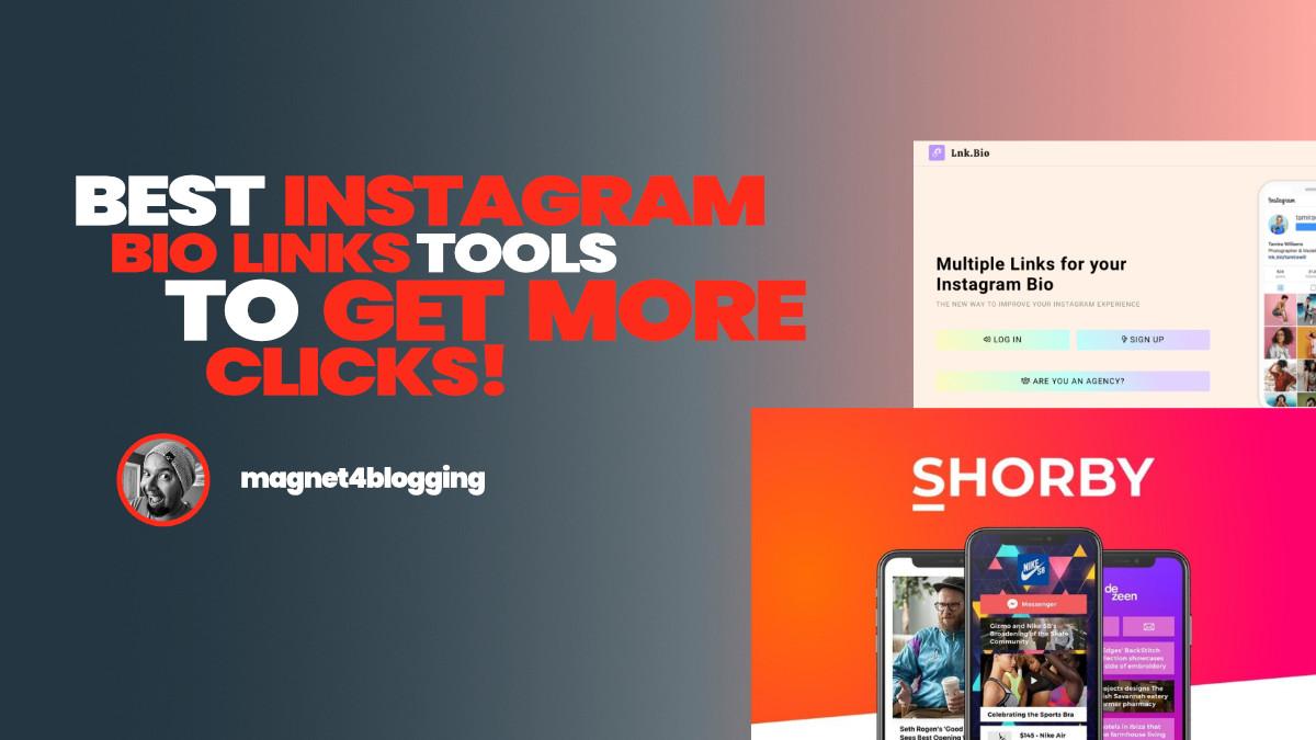 5 Best Instagram Bio Links Tools To Get More Clicks In 2021