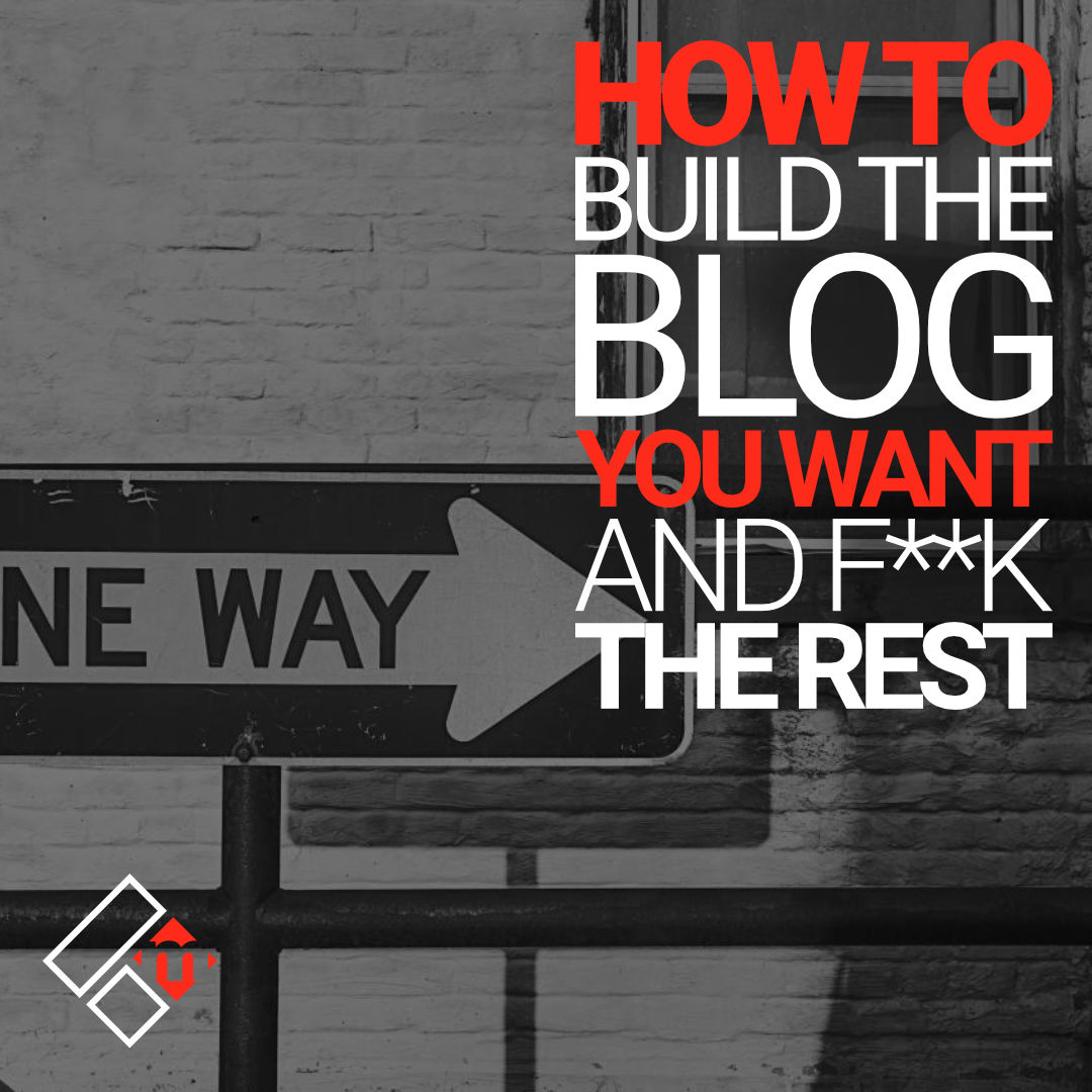build the blog