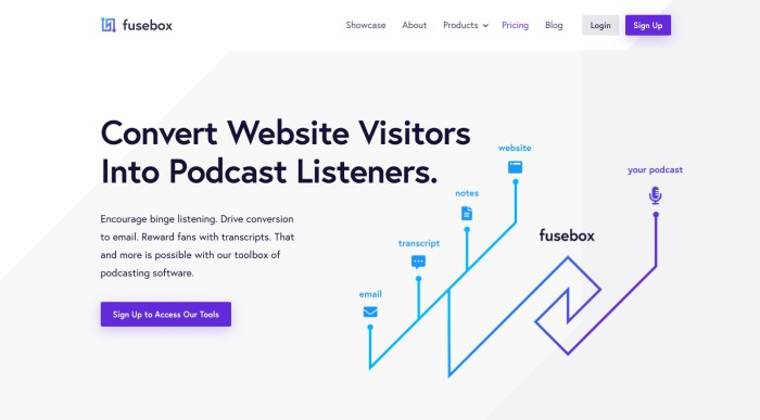 fusebox podcast player review