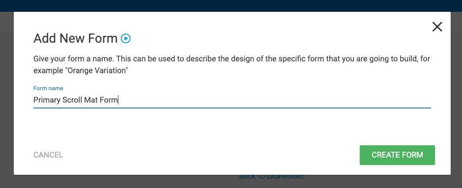 create form 2