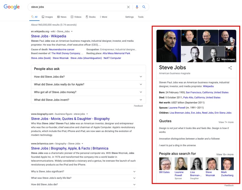 serp features 5